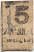 5 cent tamuang obverse